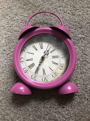 Pink alarm clock for Sale in Colorado Springs, CO