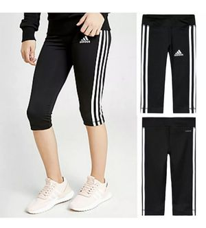 NWT Girls Size Large Adidas Classic Performance Capri Pants SHIPPING NATIONWIDE for Sale in Miami, FL