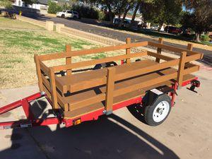 4' x 8' Folding Utility Trailer for Sale in Mesa, AZ