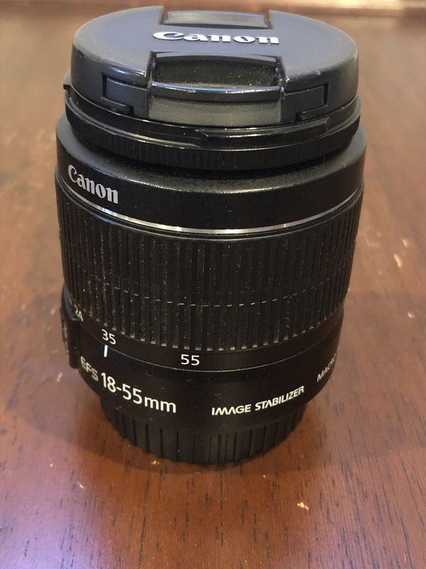 Canon t3i with 2 lenses bundle