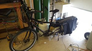 Electric bike xtracycle with bionx cargo bike for Sale in Rio Verde, AZ