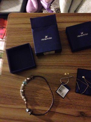 Swarovski and pandora jewelry for Sale in Winthrop, MA
