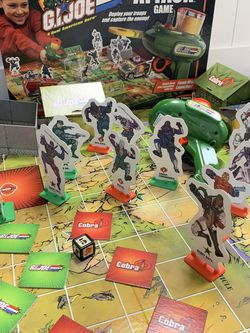 Gi Joe 3D Board Game for Sale in Reston,  VA