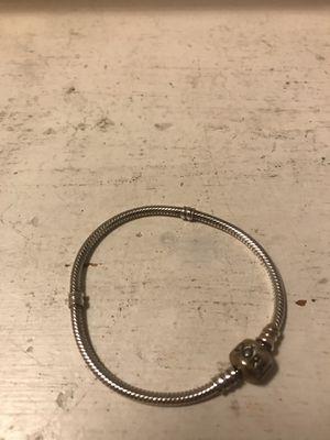 Pandora 925 Sterling Silver Barrel Clasp Bracelet for Sale in Franklin, TN