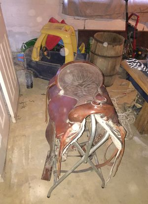 """King brand horse saddle 16"""" I believe for Sale in Fort Mitchell, KY"""