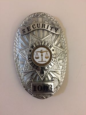 Security badge for Sale in San Diego, CA