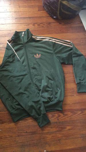 Adidas Track Jacket (Olive, FireBird) M for Sale in Washington, DC