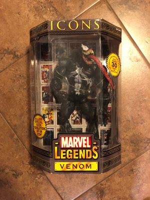 "Toy Biz Marvel Legends Icons Venom - 12"" for Sale in Phoenix, AZ"