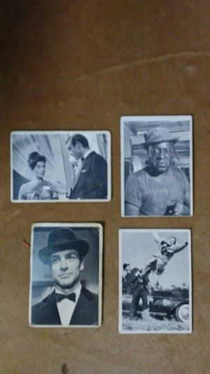 1965 James Bond and Hot Rod magazine Spec Sheet trading cards for Sale in Aberdeen, WA