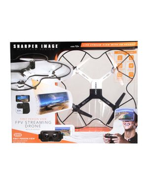 Brand new Sharper Image Lunar Drone with HD Camera and VR Headset for Sale in North Las Vegas, NV