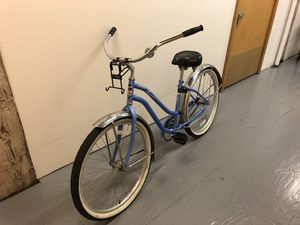 Charming blue vintage style bicycle. for Sale in Portland, OR