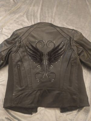 Milwaukee Leather Small woman's Motorcycle Jacket. Never worn for Sale in Westmont, IL