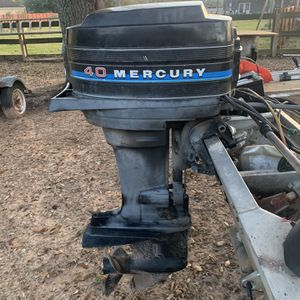 40hp Mercury Outboard for Sale in Cypress, TX