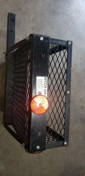 Hauler hitch cargo basquet for Sale in Dallas, TX