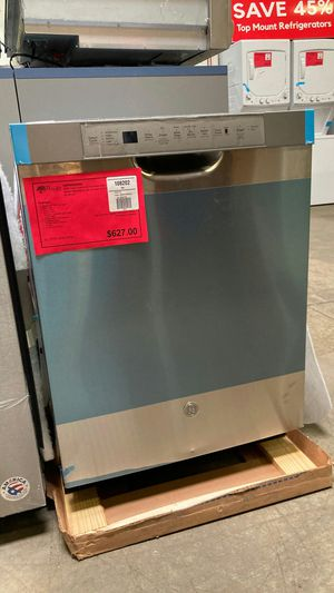 GE front control and stainless steel interior dishwasher. One year manufacturers warranty for Sale in Chandler, AZ