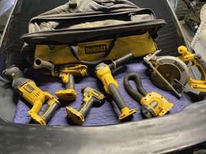 DEWALT 6-Tool 18-Volt Power Tools ( Two Batteries And Charger ) for Sale in Compton, CA