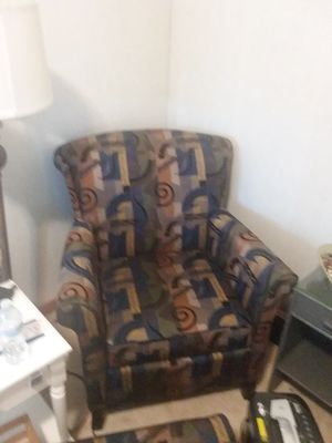 Chair and ottoman for Sale in Hanover Park, IL