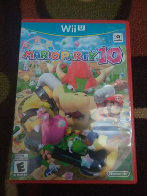 Mario party 10 for the Nintendo Wii U for Sale in Austin, TX