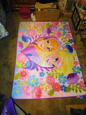 Disney Frozen Anna & Elsa Kids Throw Rug for Sale in Virginia Beach, VA
