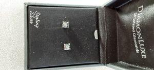Cubic zirconia topaz stud earring set for Sale in Phoenix, AZ