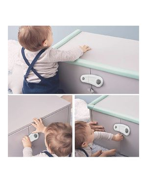 4 pack, Babyproof cabinet locks for Sale, used for sale  Clifton, NJ