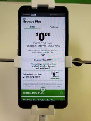 LG Escape Plus for Sale in White Hall, WV