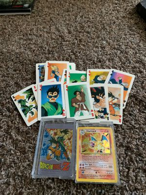 Old set of Dragonball Z playing cards for Sale in Perris, CA