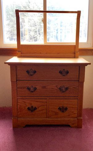 Wood Nightstand for Sale in Marion, MI