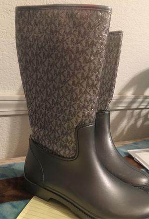 Michael Kors rain boots for Sale in Fresno, CA