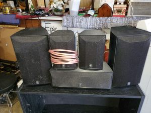 Yamaha surround sound speakers for Sale in Julian, NC