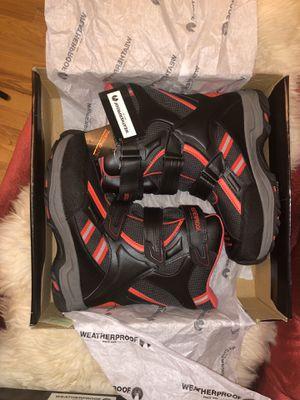 Weatherproof kids boots size 5 for Sale in Bellingham, WA