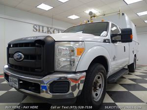 2011 Ford F-350 SD 4x4 Utility Service Truck Extended Cab Diesel for Sale in Paterson, NJ
