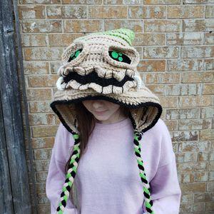 Oogie Boogie Nightmare Before Christmas Crochet Hood/ Hat for Sale in Arlington, TX