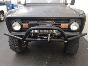 Ford Bronco front bumper with winch for Sale in El Cajon, CA