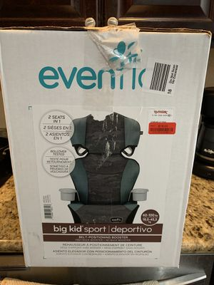 Even Flo Big Kid Sport Booster Seat for Sale in Hayward, CA