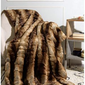 Best Home Fashion Chinchilla Faux Fur Throw Blanket for Sale in Queens, NY