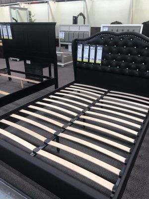 Bed frame with mattress for Sale in Rancho Cucamonga, CA
