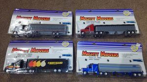 Mighty movers collectable toy trucks- set of 4 for Sale in Willow Spring, NC