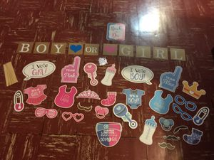Gender Reveal Party Decorations - Boy or Girl for Sale in Cleveland, OH