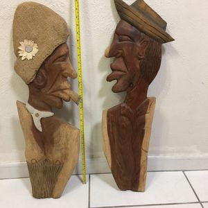 Wood Hand Made Couple for Sale in Miami, FL