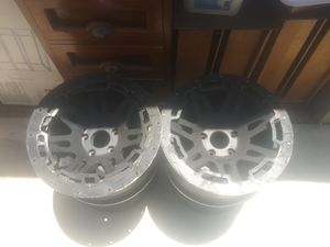 XHD wheels rims 18in for jeeps and chevys for Sale in Novato, CA