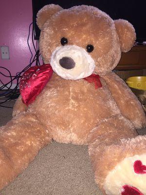 big stuffed teddy bear for Sale in Alpharetta, GA