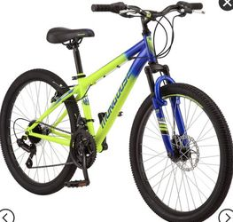 "Mongoose Scepter 24"" Kids' Mountain Bike - Green/Blue for Sale in Dallas,  TX"
