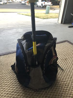 Baseball/soft ball backpack for Sale in Ceres, CA