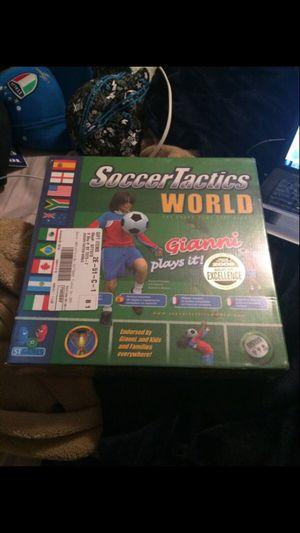 Soccer Tactics World Edition Board Game for Sale in Murfreesboro, TN
