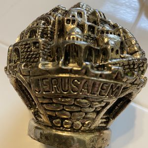 Jerusalem 925 Sterling Silver Paperweight for Sale in Winter Haven, FL