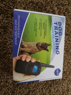 Dog training active collar for Sale in Riverside, CA