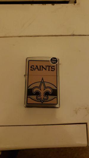 Saints zippo lighter for Sale in Dallas, TX