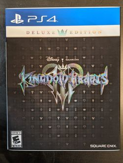 Kingdom Hearts 3 Deluxe Edition For Playstation 4 for Sale in Miami,  FL