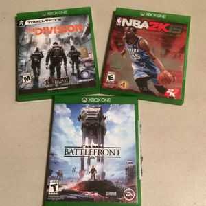 Xbox games- very good condition for Sale in Vancouver, WA